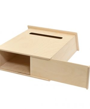 Wooden box for letters 35х29х12cm - IDEA1500