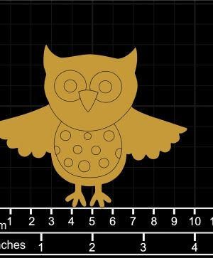 Wooden figurine -  Owl IDEA1443