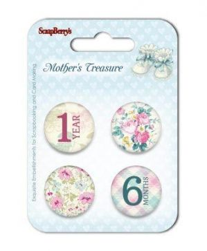 Embellishments - Mother's Treasure 3 SCB340001031