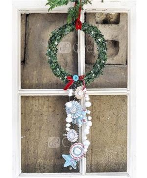 Stirofoam wreath  22sm. - DIST-009