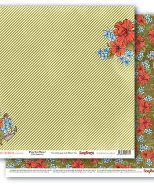 Double-sided paper- Land Ahoy! - 30.5x30.5cm-SCB220609204