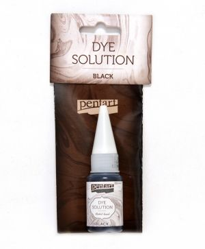 Dye solution, alcohol-based 10 ml - black P29422