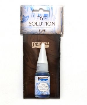 Dye solution, alcohol-based 10 ml - blue P29416