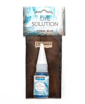 Dye solution, alcohol-based 10 ml - coral blue P29417