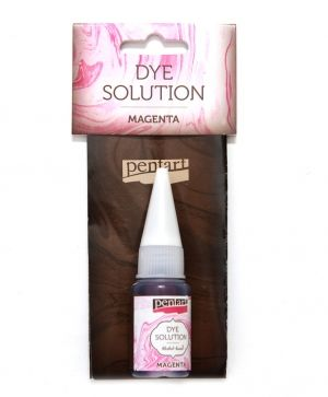 Dye solution, alcohol-based 10 ml - magenta P29418