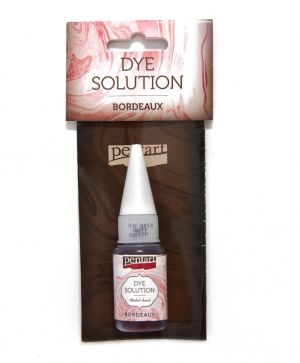 Dye solution, alcohol-based 10 ml - bordeaux P29421