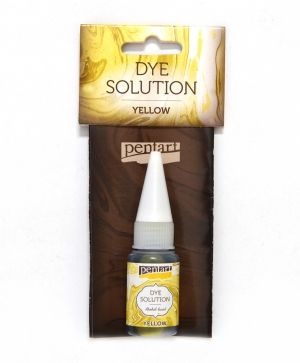 Dye solution, alcohol-based 10 ml - yellow P29414