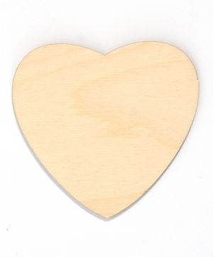 Wooden figurine - Heart 9,5cm IDEA1558
