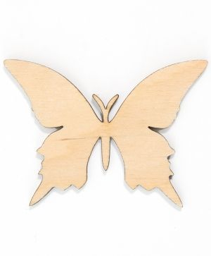 Wooden figurine - Butterfly 9,5x7cm IDEA1560