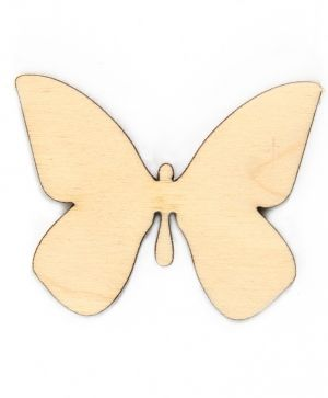 Wooden figurine - Butterfly 6x5cm IDEA1561