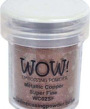 Embossing powder 15ml - Copper, Super Fine WC02SF