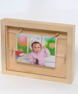 Wooden frame for pictures - IDEA1577
