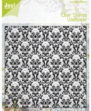 Clear Stamp 15x15cm - Old wallpaper 6410-0302