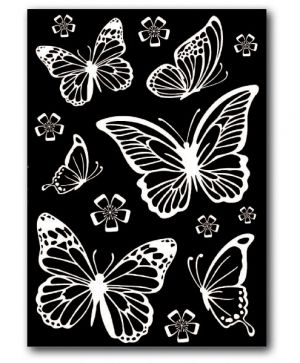 Stikers decotransfer A5 size - Butterflies DFTD01
