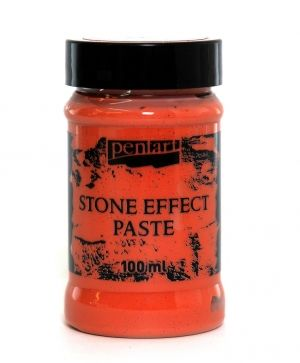 Stone effect paste 100 ml - terracotta P29710