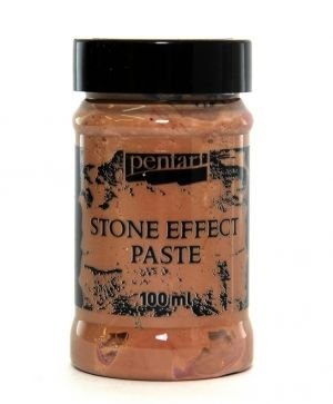 Stone effect paste 100 ml - brown granite P29711