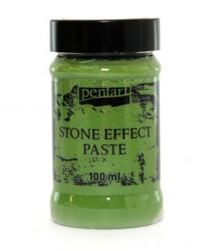 Stone effect paste 100 ml - green granite P29712