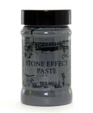 Stone effect paste 100 ml - antharacite P29714