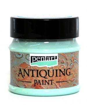 Antiquing paint 50 ml - patina blue P29732