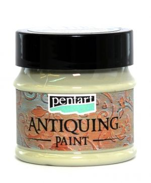 Antiquing paint 50 ml - cream green P29734