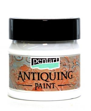 Antiquing paint 50 ml - white P29737