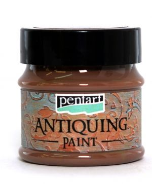 Antiquing paint 50 ml - dark brown P29738