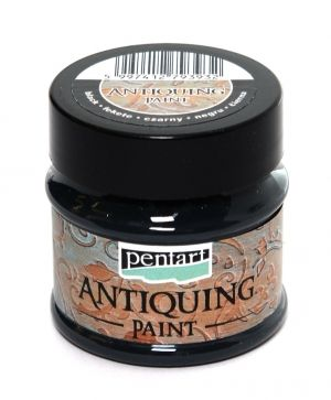 Antiquing paint 50 ml - black P29735