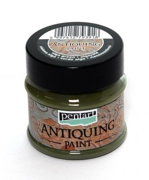 Antiquing paint 50 ml - alga green P29733