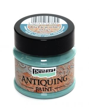Antiquing paint 50 ml - patina green P29731
