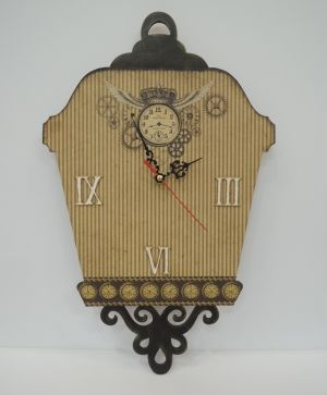 MDF wall clock base - IDEA1259