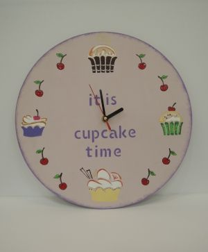 MDF clock base d 25cm IDEA0140