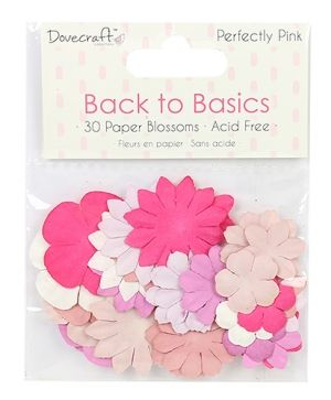 Paper flowers - Perfectly Pink DCFLW014
