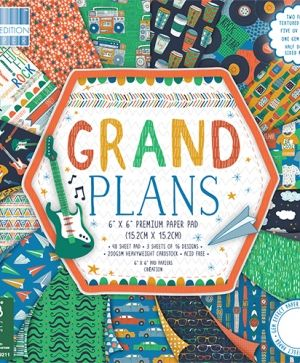 "First edition Paper Pad 6""x6"" - Grand Plans FEPAD160"