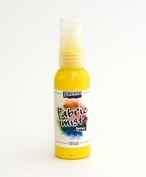 Fabric mist spray 50ml - yellow P29715