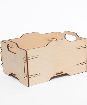 Wooden crate 21x16x11cm - IDEA1624