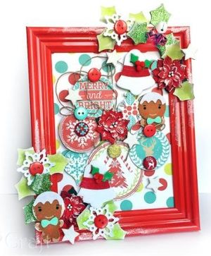 CRAFT PUNCH 7,5 CM HOLLY LEAF2 - JCDZ-130-175
