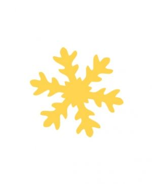 CRAFT PUNCH 3,7CM  SNOWFLAKE - JCDZ-115-059