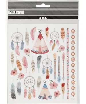 Stickers, sheet 10x24 cm, approx. 14 pc, silver, love - C29142