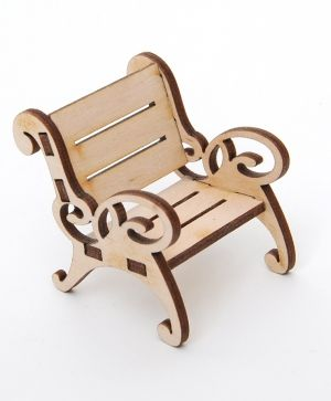 Wooden figurine - Chair  IDEA1633