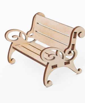 Wooden figurine - Bench  IDEA1634