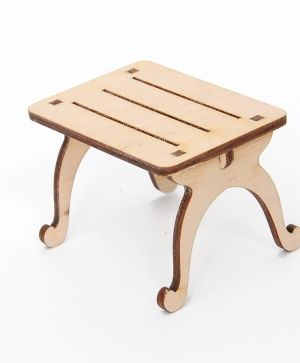Wooden figurine - Table IDEA1636