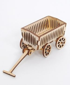 Wooden figurine - Carriage  IDEA1639