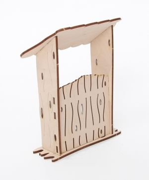 Wooden figurine - Shed  IDEA1640