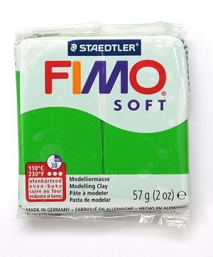 FIMO polymer clay SOFT 56g tropic green 53 - G502053