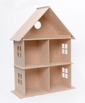 Wooden dollhouse - IDEA1656