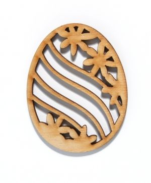 Wooden Easter figurine - IDEA0953