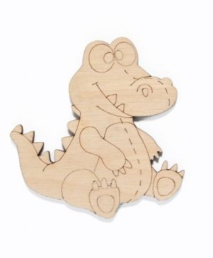 Wooden figurine - Crocodile IDEA1441
