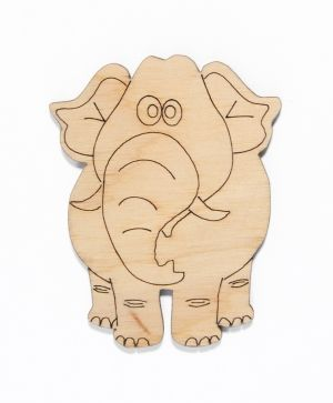 Wooden figurine -  Elephant IDEA1442