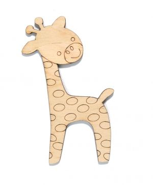 Wooden figurine -  Giraffe IDEA1445