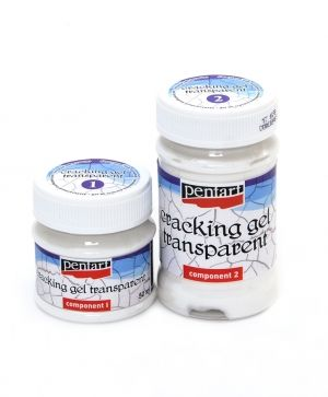 Transparent cracking gel set, 50+100 ml - P33663